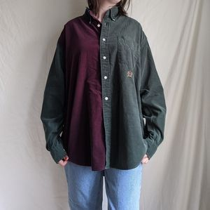 Tommy Hilfiger corderoy button up